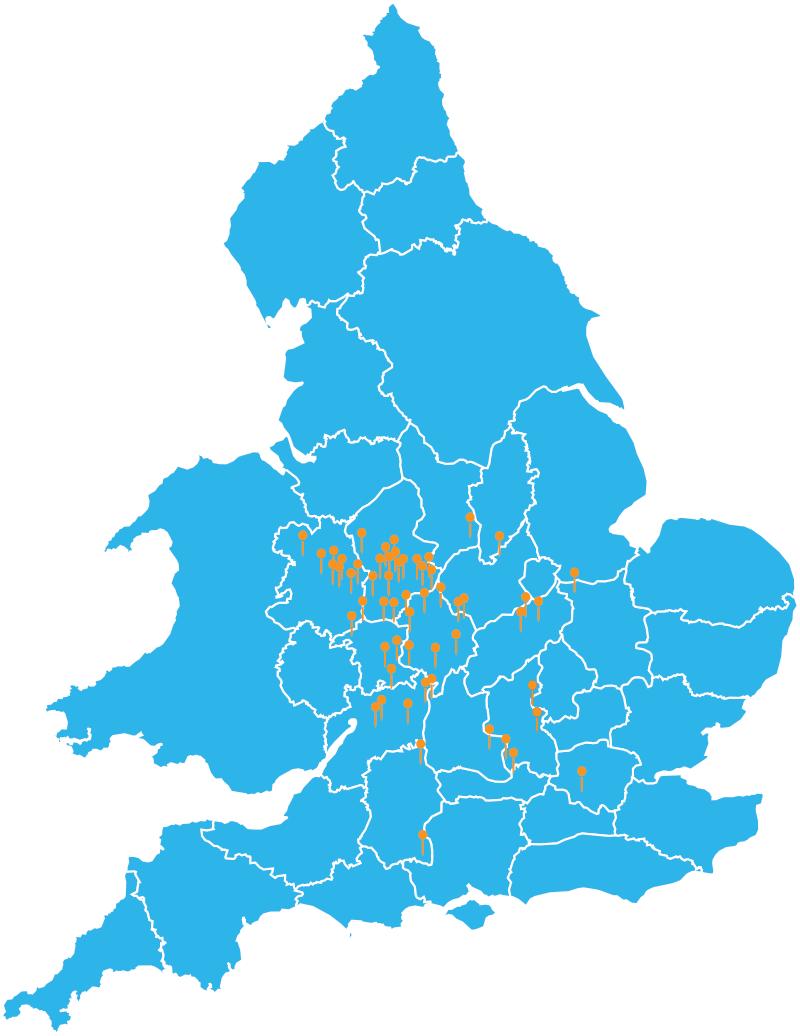 CSB Location Map